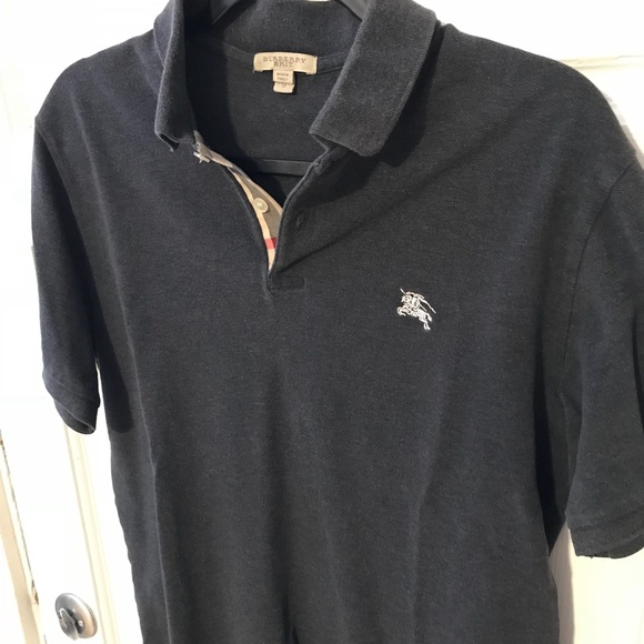 d2c7b6304c39a Burberry Other - Burberry Polo shirt in grey medium
